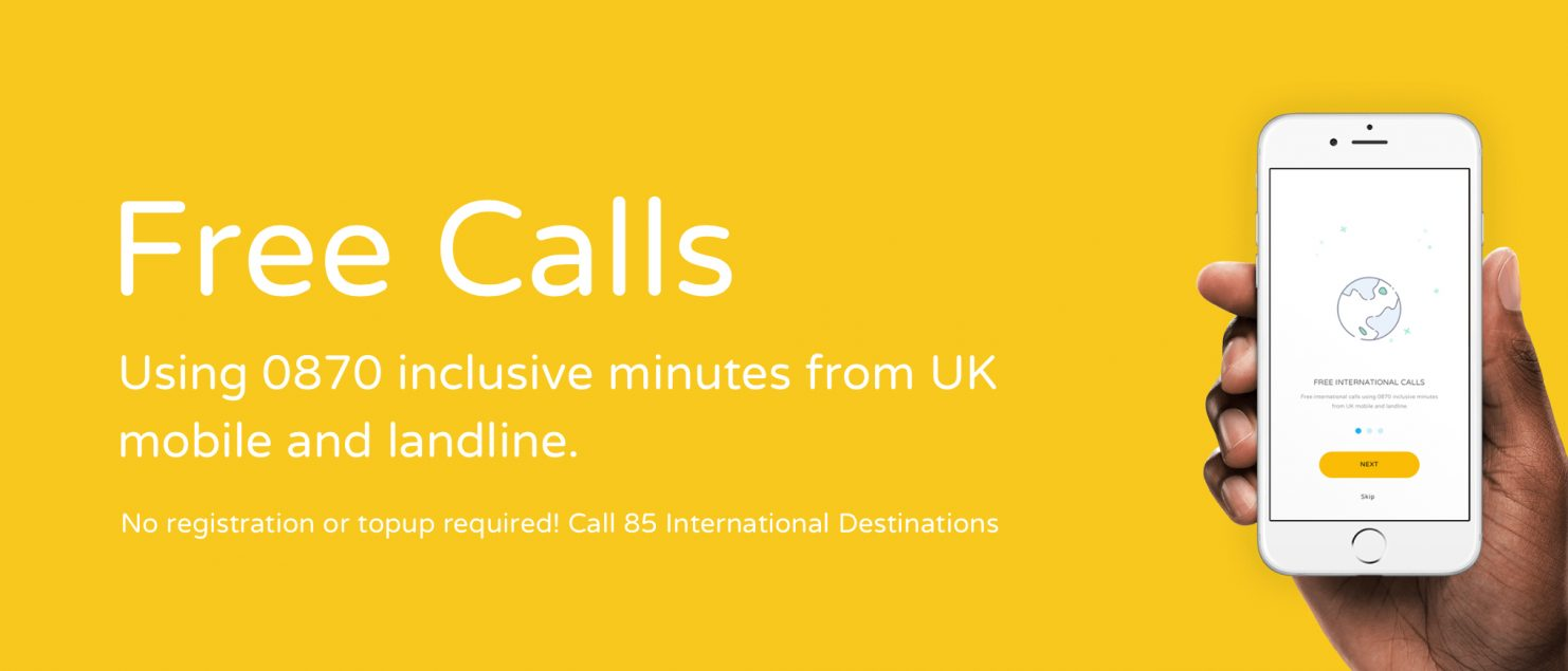 free international calls from mobile inclusive minutes